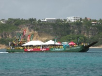 Anguilla Day Party Barge