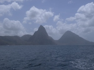 The Pitons, St. Lucia on another trip